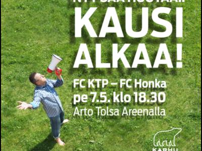 Kannustushuuto FC KTP:lle