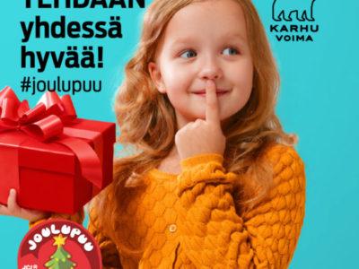 Tehdään yhdessä hyvää – annetaan lahja lapselle