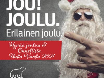 Jou! Jou! Joulu! 💝 Erilainen joulu.