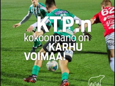 Karhu Voima ja FC KTP yhteistyöhön