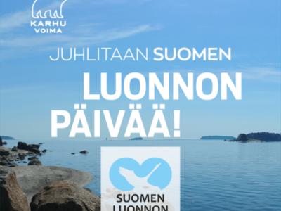 Juhlitaan Suomen luontoa