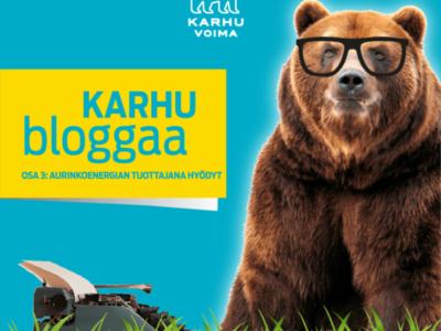 Karhu bloggaa